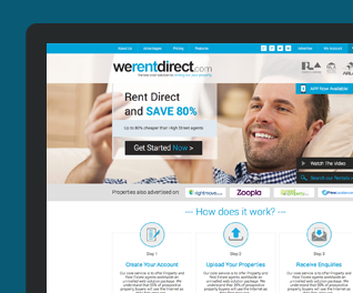 We Rent Direct - Online Lettings Portal