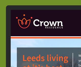 Crown Residence Property Development Website Design