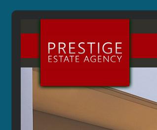 prestige real estate web design