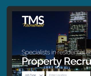 TMS Recruitment Website Design