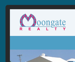 Moongate Realty - Caribbean Real estate website design