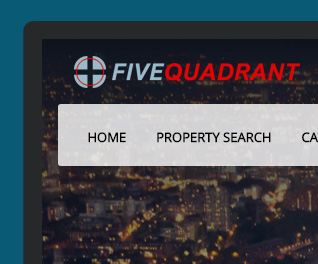 Five Quadrant - Estate Agency Website Design