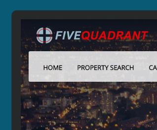 Five Quadrant - Estate Agency Website Design