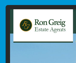Ron Greig Estate Agency Website Design