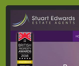 Stuart Edwards Estate Agency Website Design