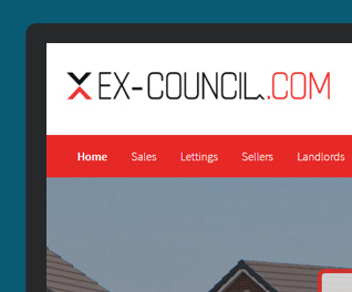 Ex Council - Bargain Estate Agency Website
