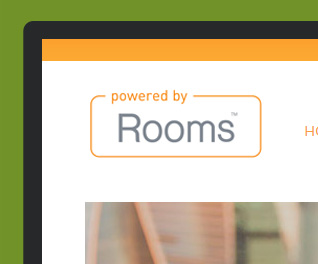 Powered by Rooms - Property Website Design