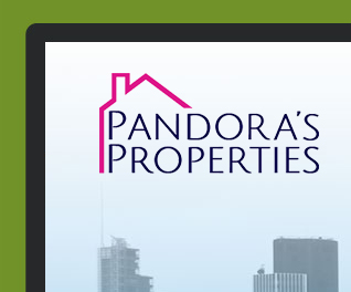 Pandoras Properties - Property Portal Website Design