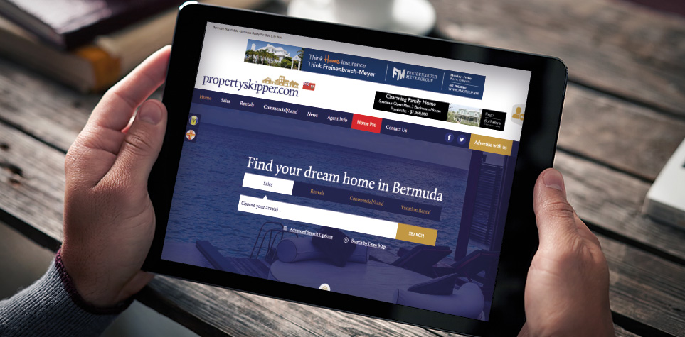 Property Skipper Property portal website design