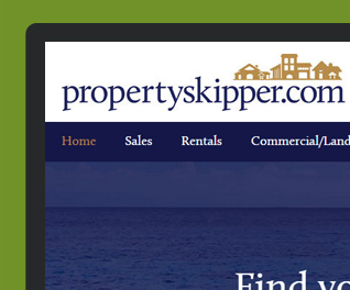 Propertyskipper - property portal web design