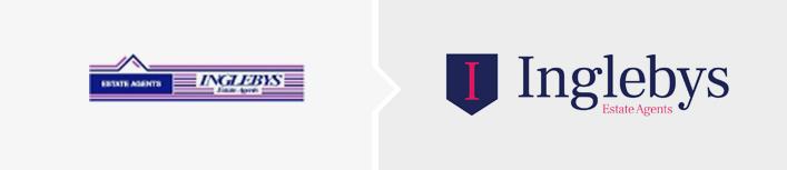 Inglebys Estate Agents logo Design