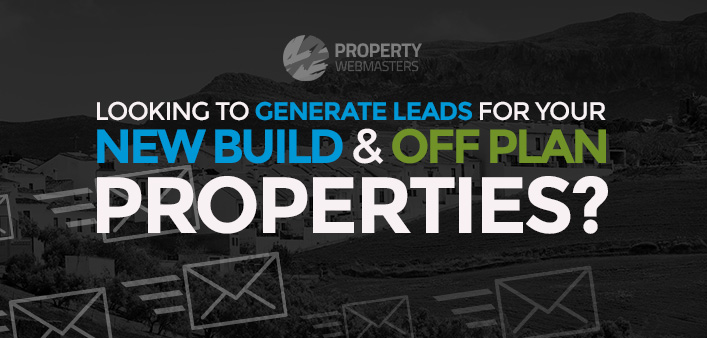 generate leads for new build off plan properties