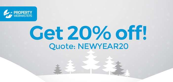 20% Off Everything – New Year