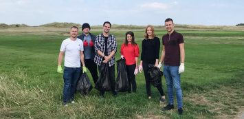 Property webmasters give back to the community