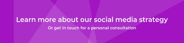 Social media strategy button