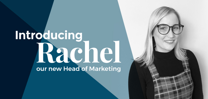 Introducing our new Head of Marketing, Rachel!