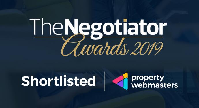 Property Webmasters Shortlisted for The Negotiator Awards 2019