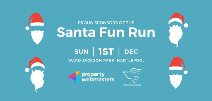 Property Webmasters Taking on Santa Fun Run
