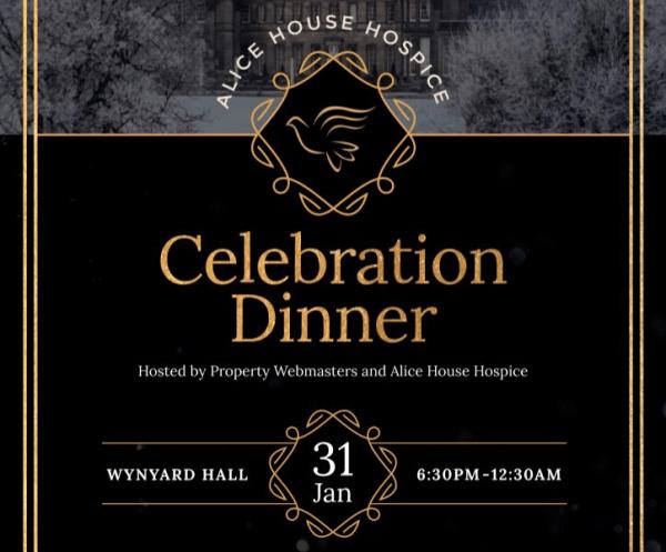 Alice House Hospice Charity Celebration Dinner